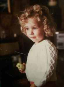 Anne during her childhood.