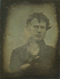 "Robert Cornelius' Self-Portrait: The First Ever ""Selfie"" (1839) -"