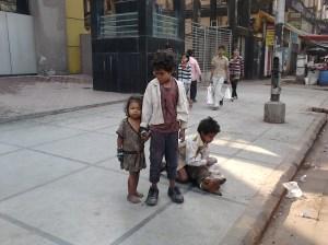 Street Children in Kolkata