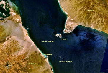 The Strait of Bab-el-Mandeb