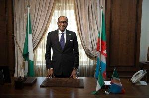 Newly elected President Muhammad Bohari