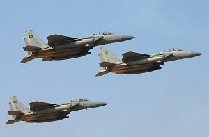 Saudi jet fighters